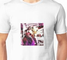 Trendy double image dude Unisex T-Shirt