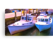Rafted Together Canvas Print