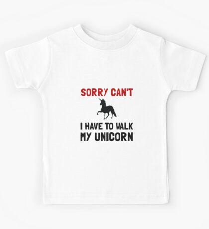 Walk Unicorn Kids Tee