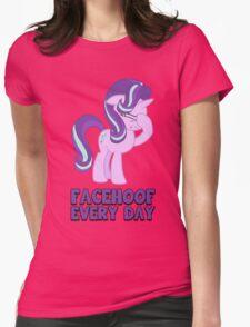 Starlight Glimmer - Facehoof V2 Womens Fitted T-Shirt