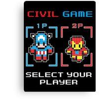 civil game Canvas Print
