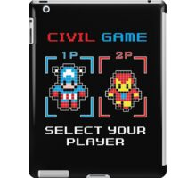 civil game iPad Case/Skin