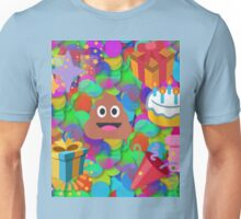 happy birthday poop emoji Unisex T-Shirt