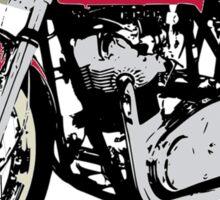 NORTON CAFE RACER VINTAGE ART Sticker