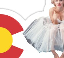 CO Marilyn Sticker
