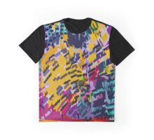 Colourful Camping  Graphic T-Shirt