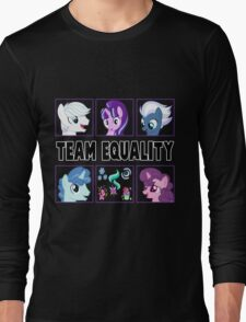 TEAM EQUALITY - CLEAR BOXES VERSION Long Sleeve T-Shirt