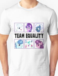TEAM EQUALITY - CLEAR BOXES VERSION T-Shirt