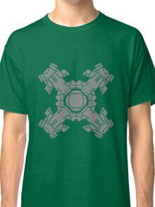 microchip motherboard technology line connection datentechnik electronics cool design robot cyborg energy pattern Classic T-Shirt