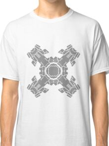 microchip motherboard technology line connection datentechnik electronics cool design robot cyborg energy pattern Classic T-Shirt