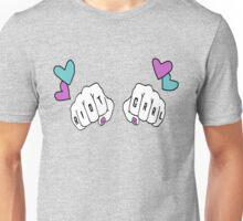 Adorable Riot Grrrl Knuckles Unisex T-Shirt