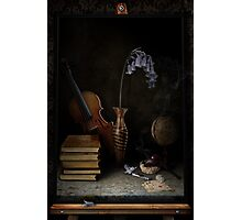 Still-life With The Violin Photographic Print