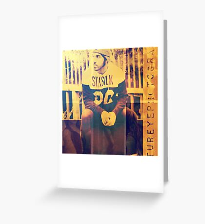The Man is fashionista Greeting Card