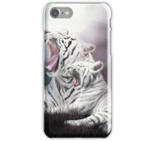 Wild Generations - White Tigers iPhone Case/Skin