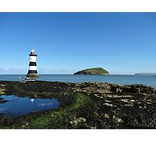 Lighthouse at Penmon Photographic Print