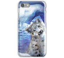 Snow Leopard - Heart Warmer iPhone Case/Skin