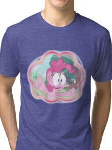 PINKIE PIE - LET ME IN! Tri-blend T-Shirt