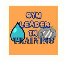 Gym Leader Art Print