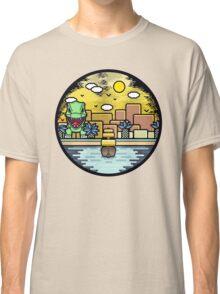 Jurassic landscape Classic T-Shirt