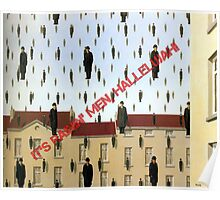 Magritte - Golconde Poster