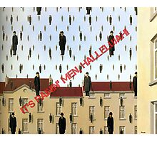 Magritte - Golconde Photographic Print