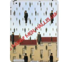 Magritte - Golconde iPad Case/Skin