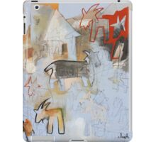 Goats and Homes iPad Case/Skin