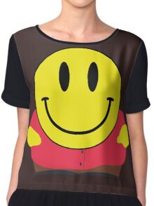 Cartman Smiley Chiffon Top