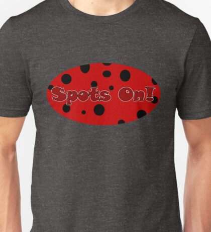 Spots On Unisex T-Shirt
