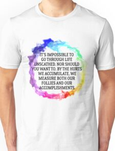 Follies And Accomplishments Unisex T-Shirt