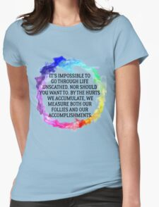 Follies And Accomplishments Womens Fitted T-Shirt