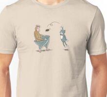 Monkey and Tuxedo Cat LIVE! Unisex T-Shirt