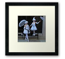 Book of Circus: Doll  Framed Print