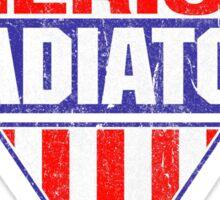 American Gladiators Sticker