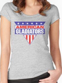 American Gladiators Women's Fitted Scoop T-Shirt
