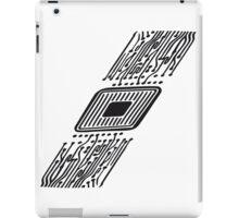 microchip disk pattern design cool iPad Case/Skin
