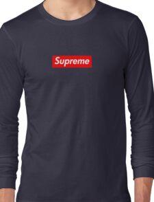 Supreme Logo Long Sleeve T-Shirt