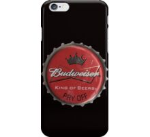 BUDWEISER BOTTLE CAP iPhone Case/Skin