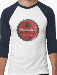 BUDWEISER BOTTLE CAP Men's Baseball ¾ T-Shirt
