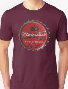 BUDWEISER BOTTLE CAP Unisex T-Shirt