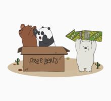 Free Bears! One Piece - Short Sleeve