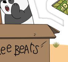 Free Bears! Sticker