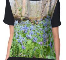 On The Forest Floor Chiffon Top