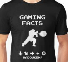 Gaming Facts Hadouken Unisex T-Shirt