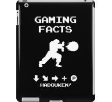 Gaming Facts Hadouken iPad Case/Skin