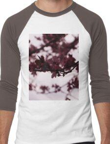 Japanese Cherry Tree Men's Baseball ¾ T-Shirt