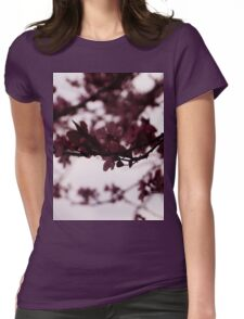 Japanese Cherry Tree Womens Fitted T-Shirt