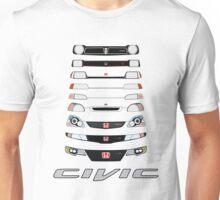 Honda Civic (White) Unisex T-Shirt