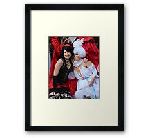 Doll and Beast  Framed Print