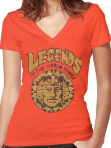 Legends of the Hidden Temple Women's Fitted V-Neck T-Shirt